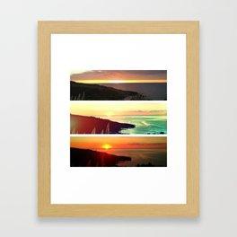 El Teide Framed Art Print