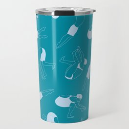 On Your Marks - Teal Travel Mug