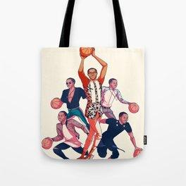 Crowning the Fashion King Tote Bag