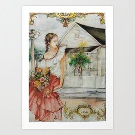 """""""Casa Latina """" Art Print"""