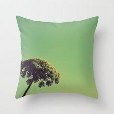 Lace Umbrella Throw Pillow