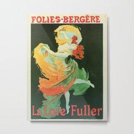 La Loie Fuller Metal Print