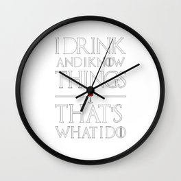 Game of ThronesThat's What I Wall Clock