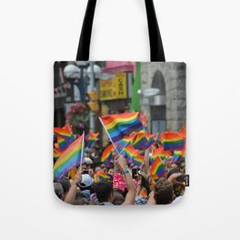 Gay Pride March Tote Bag