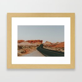 Desert Road Trip IV Framed Art Print