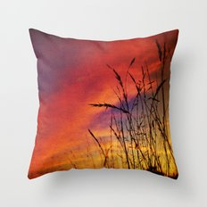 Dreaming in Color (of the Setting Sun) Throw Pillow