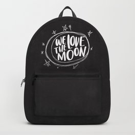We Love the Moon Backpack