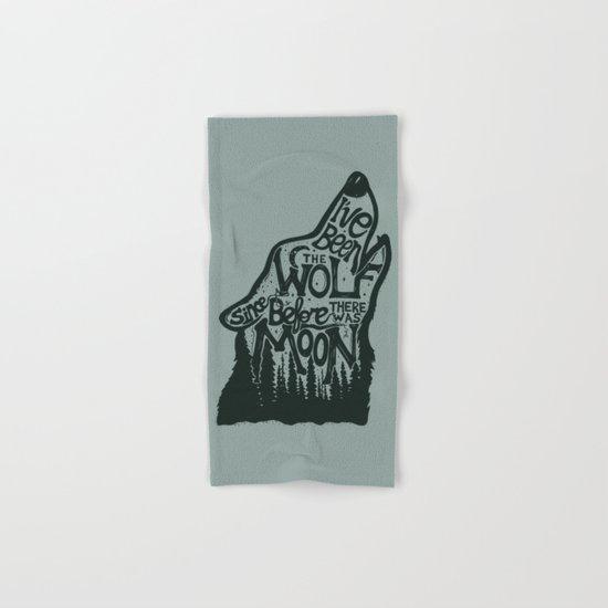 The Wolf Hand & Bath Towel