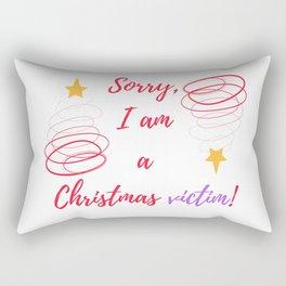 A Christmas vict Rectangular Pillow