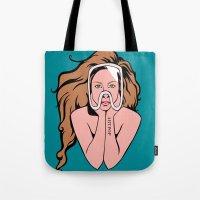 artpop Tote Bags featuring ARTPOP by Angelus