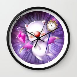 Time Traveling Moogle Wall Clock