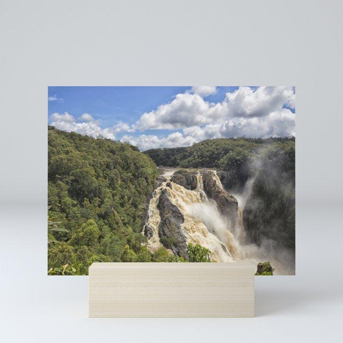 Magnificent Barron Falls in Queensland Mini Art Print