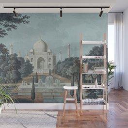 Taj Mahal India Wall Mural