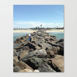 Mexico To The Right Canvas Print