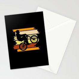 BMX Bike Biker Gift Vintage Wheely BMX Lover Gift Stationery Cards