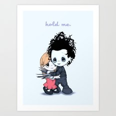Edward Moments Art Print