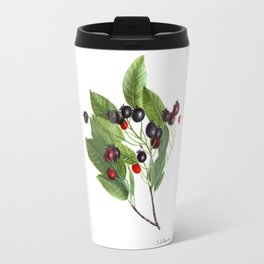 Canadian Serviceberry Travel Mug
