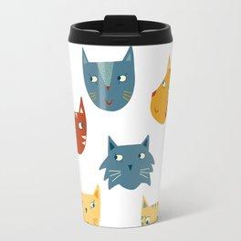 Many Cats Travel Mug