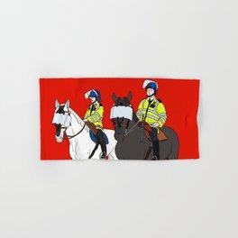 London Metropolitan Horse Cops Hand & Bath Towel