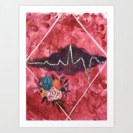 Cardiac Arrangement Art Print