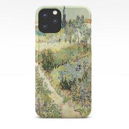 Vincent Van Gogh : Garden at Arles iPhone Case