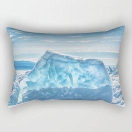 Pressure ridge of lake Baikal Rectangular Pillow