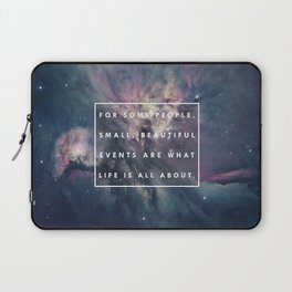 What Life Is All About - Doctor Who Laptop Sleeve