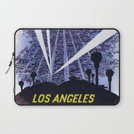 Vintage Travel Poster - Los Angeles Laptop Sleeve
