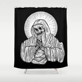 praying for death Shower Curtain