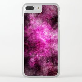 PinkCrush Clear iPhone Case