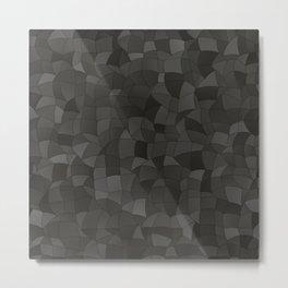Geometric Shapes Fragments Pattern 2 gw Metal Print
