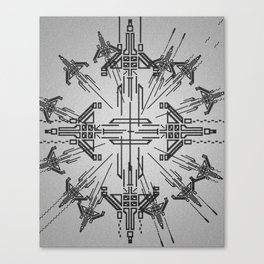 Jets Canvas Print