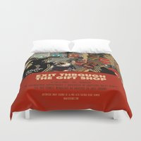 banksy Duvet Covers featuring Exit Through The Gift Shop - Banksy by Smart Store