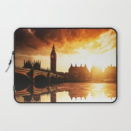 london reflections Laptop Sleeve