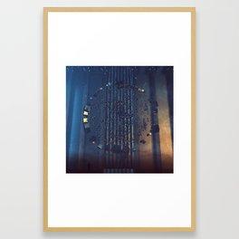 FLYING PRIMITIVES (everyday 05-05-2018) Framed Art Print
