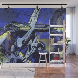 All Revved Up - Freestyle Motocross Rider Wall Mural