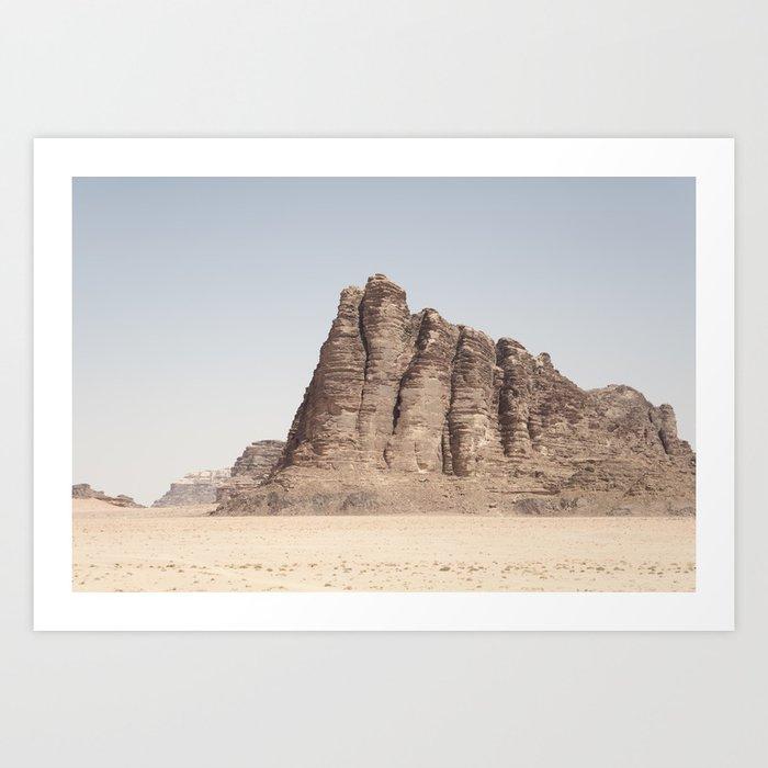 Wadi Rum Art Print
