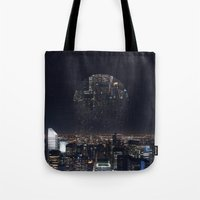 witchoria Tote Bags featuring Insomnia by witchoria