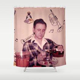 Whiskey Guy Shower Curtain