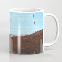 Norwegian National Park Landscape Shot on Film Coffee Mug