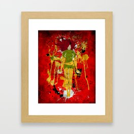 Splash of Phoenix Framed Art Print
