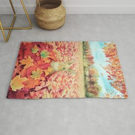 Buried in Autumn Blessings Rug