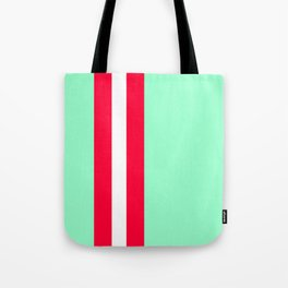 Aquafresh Racing Stripe Tote Bag