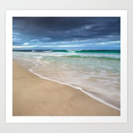 Winter Surf Art Print