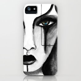 """Gothic Girl"" iPhone Case"