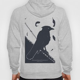 Raven on a Wire Hoody