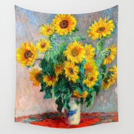 Bouquet of Sunflowers Wall Tapestry