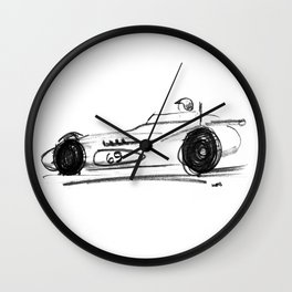 Roadster - No. 69 Wall Clock