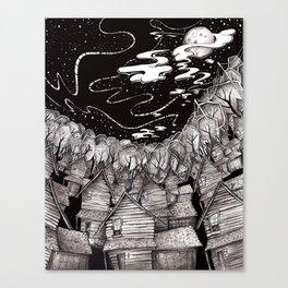 Quiet Hours Canvas Print