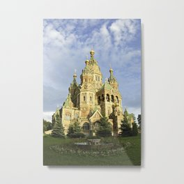 St. Peter & Paul Cathedral-2 Metal Print